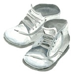 Baby Shoes Notecards
